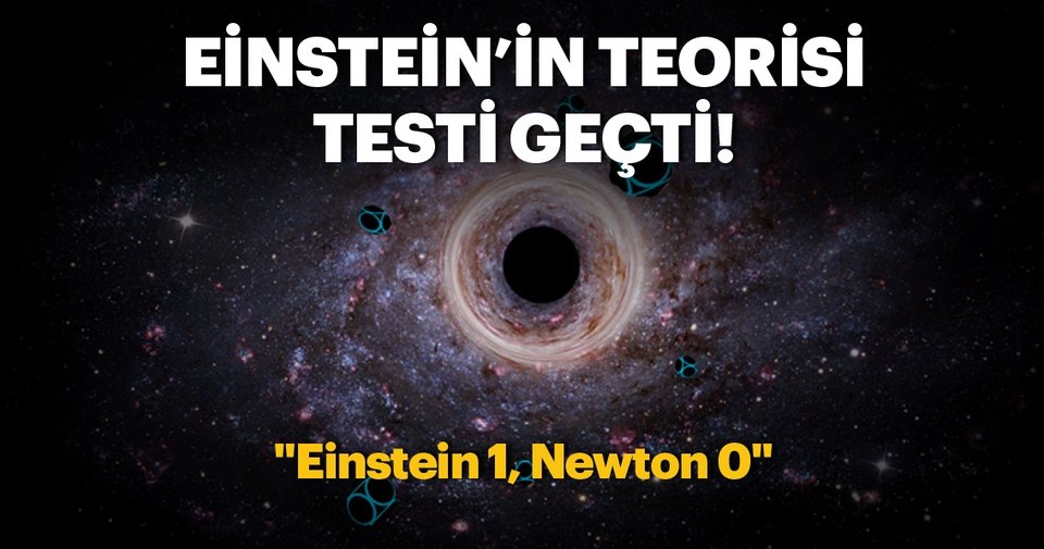 Einsteinın ünlü teorisi kara delik testinden geçti