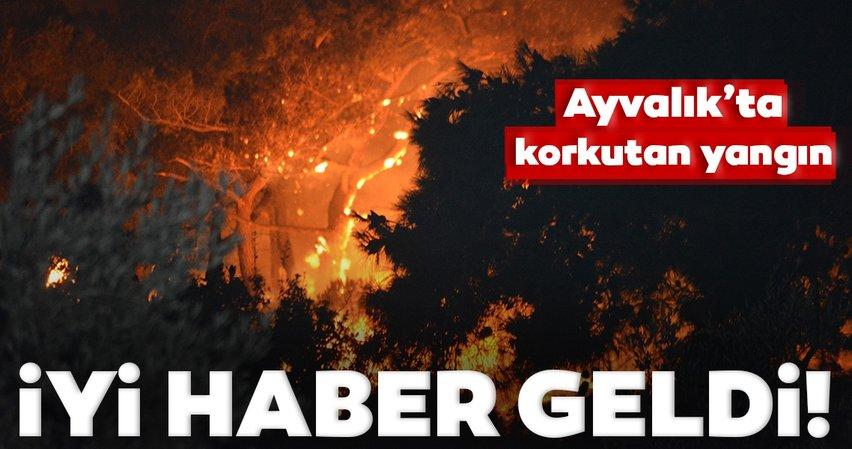 Son dakika! Bakan Pakdemirli: Ayvalık'taki yangın kontrol altına alındı