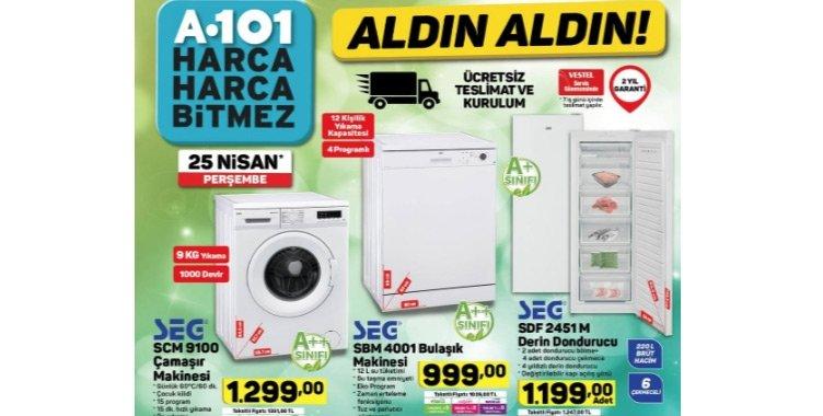 A101 kataloğu için son gün yarın! 25 Nisan A101 aktüel ürünler listesi burada...