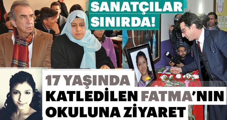 Sanatçılar Mehmetçik'e destek için sınıra geldiler