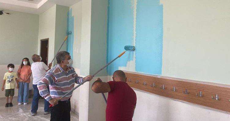 Okullarda Koronavirüs sonrası eğitim hazırlığı! Karaman'da eğitime 'temiz' hazırlık