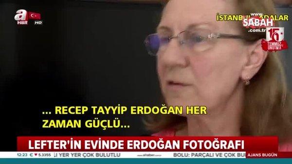 Fenerbahçeli Efsane Futbolcu Lefter'in kızından Erdoğan'a mesaj