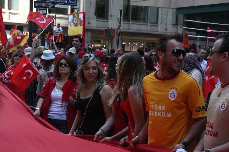 USASABAH kamerasından Türk Günü Yürüyüşü