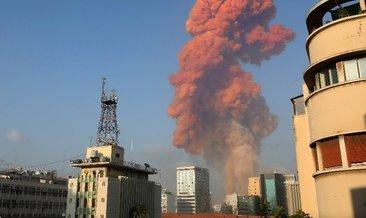 SON DAKİKA - Lübnan'ın Başkenti Beyrut'taki büyük patlama anı anbean kameraya yansıdı! Beyrut patlama anı görüntüleri geliyor!