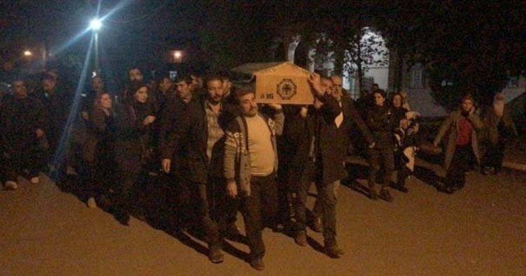 Teröristin cenazesine katılan HDP'li vekiller hakkında suç duyurusu