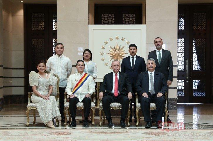 Cumhurbaşkanı Erdoğan, Endonezya ve Filipinler'in Ankara Büyükelçileri'ni kabul etti!