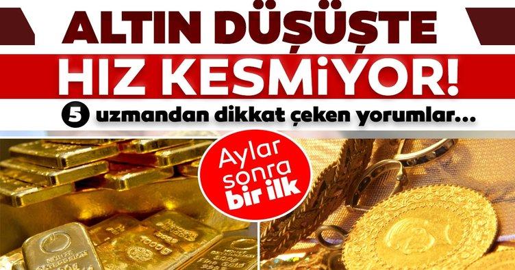 Son dakika haber: Altın fiyatları için psikolojik destek kırıldı! Altın düşüşünü sürdürecek mi?
