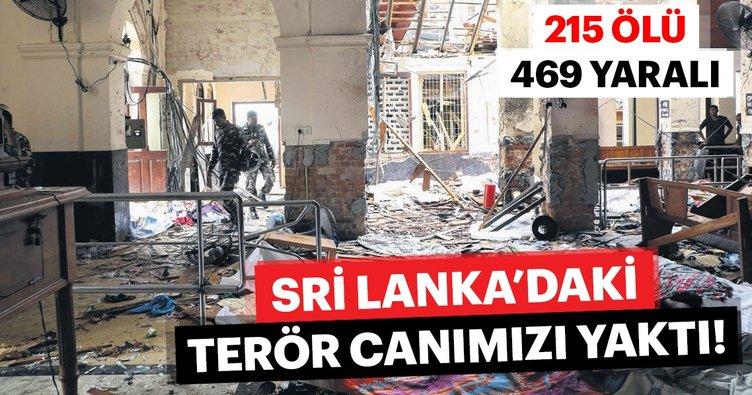 Sri Lanka'daki terör canımızı yaktı