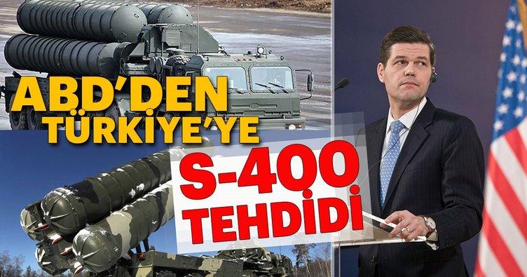 Türkiye'nin S-400 sistemi anlaşması ABD'yi çok rahatsız etti