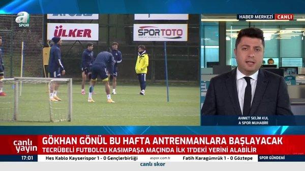 Mesut Özil Kasımpaşa maçında geri dönüyor!