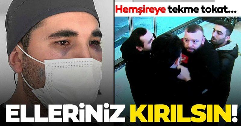 Son dakika: İstanbul'da hemşireye saldırı! Gözünü morarttılar!