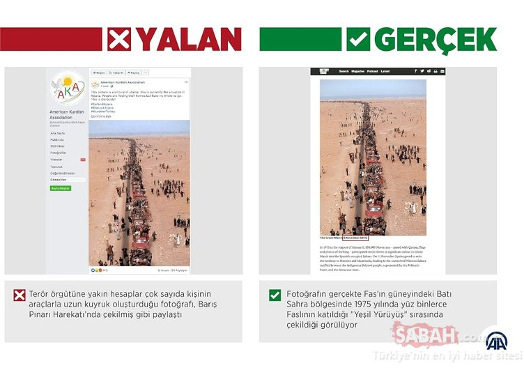 Barış Pınarı Harekatı'na yönelik sahte fotoğraflar kullanıyorlar! İşte gerçekler...