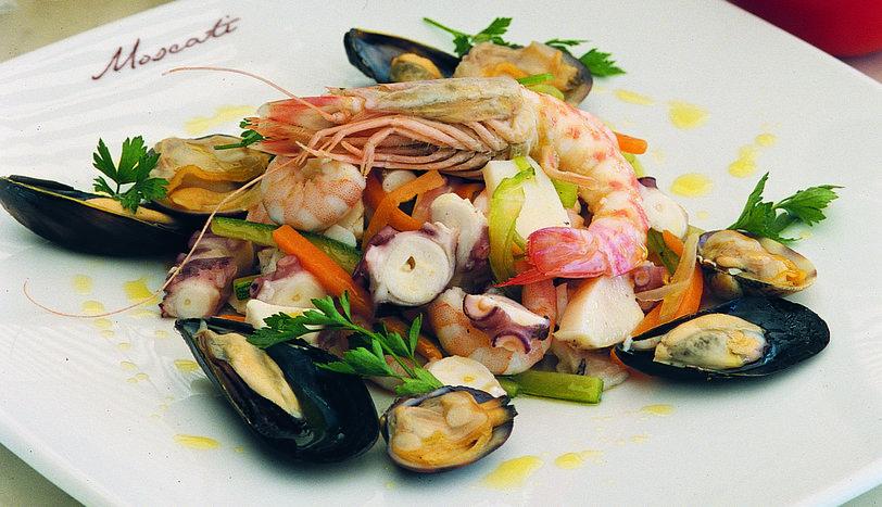 Ilık Deniz Ürünlü Salata