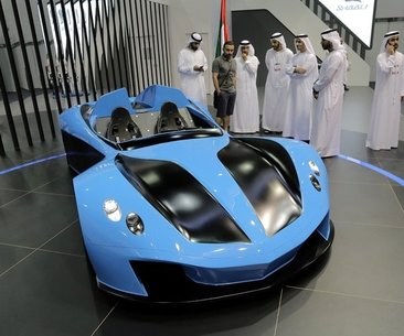 2017 Uluslararası Dubai Motor Show başladı