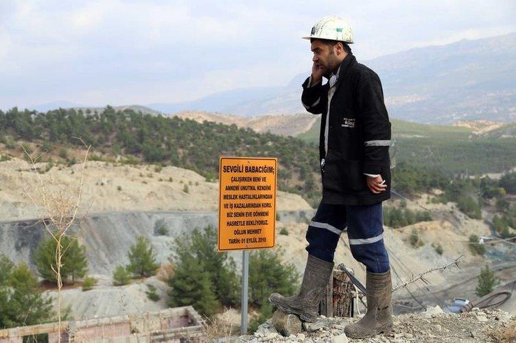 Karaman'da maden ocağında patlama