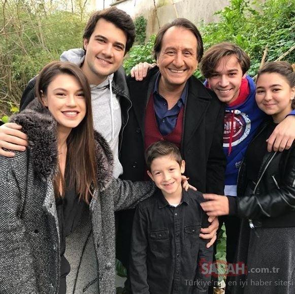 Arka Sokaklar'ın Hüsnü Çoban'ı Özgür Ozan'ın gerçek hayattaki çocukları… Sosyal medyanın ilgi odağı oldu!