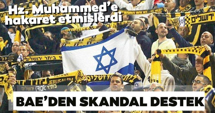 BAE'den skandal destek! Hz.  Muhammed'e hakaret etmişlerdi