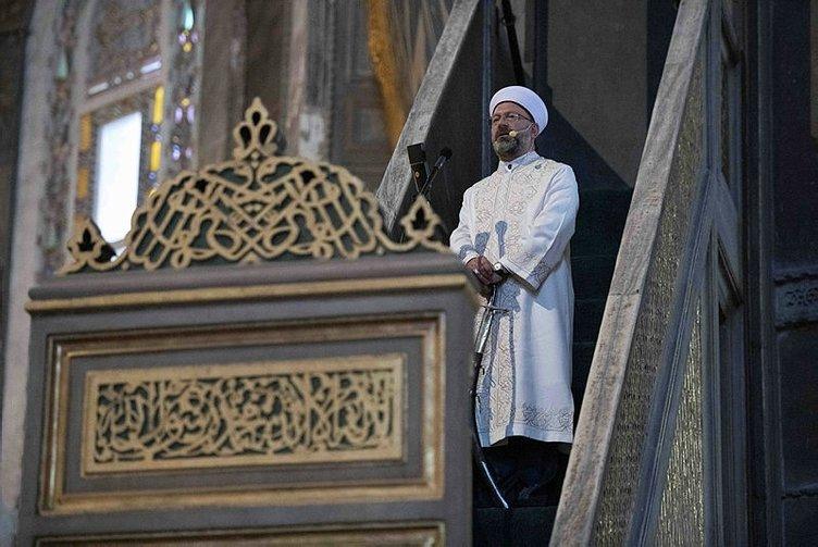 Son dakika: Diyanet İşleri Başkanı Ali Erbaş'ın kılıçla hutbe okuması çok konuşulmuştu! Peygamber Efendimiz nasıl hutbe okurdu?