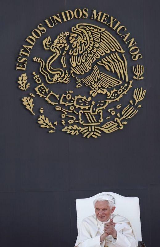 Papa Benediktus'un Meksika ziyareti