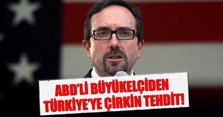ABD Büyükelçisi Bass Türkiye'yi terörle mi tehdit etti?