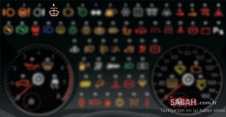 Araç gösterge paneli işaretleri ve anlamları! Hangi ikaz lambası ne anlama geliyor?