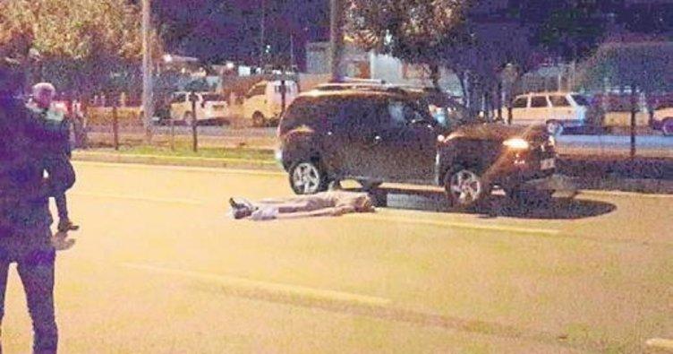 Alkollü şoför turisti ezip geçti