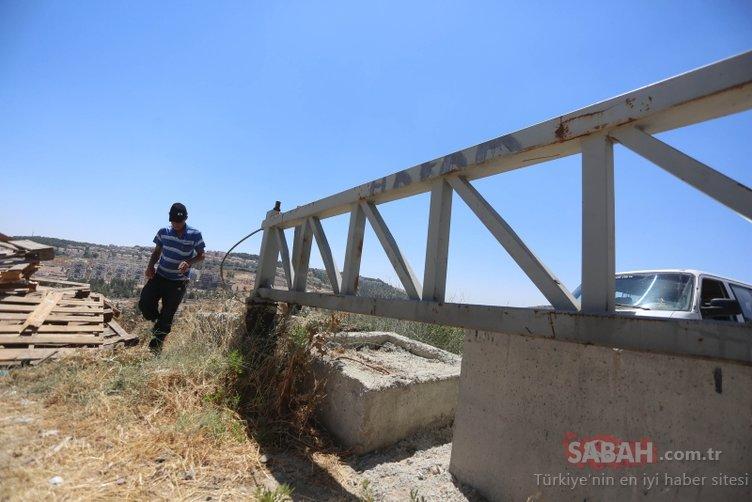 Ayrım Duvarı'nın tecrit ettiği Filistinli aile hapis hayatı yaşıyor