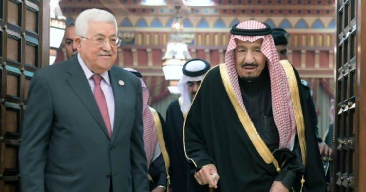 Filistin Devlet Başkanı Abbas Suudi Arabistan'da