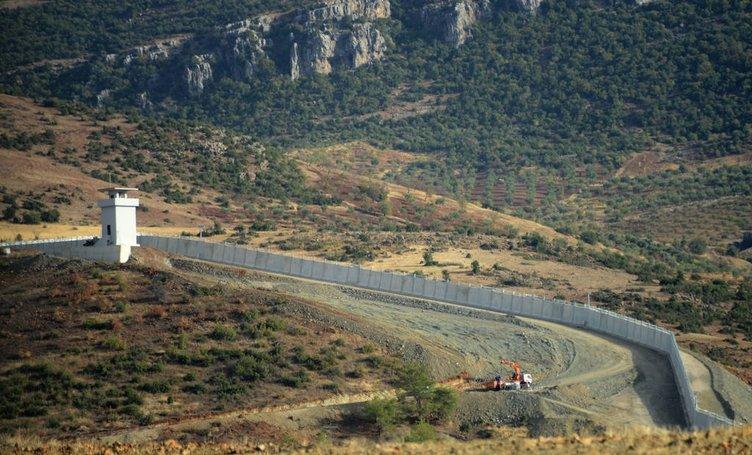 Duvar Kilis'e kadar uzandı
