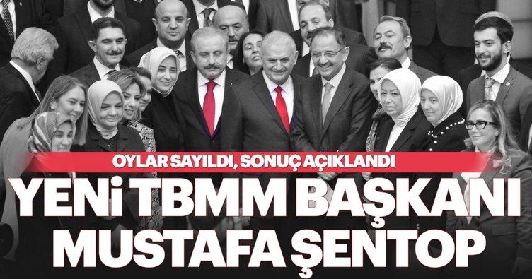 AK Parti Tekirdağ Milletvekili Mustafa Şentop TBMM Başkanı seçildi