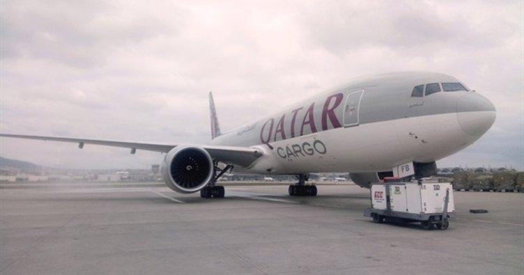 Katar hava koridorunun açılması için başvuracak!