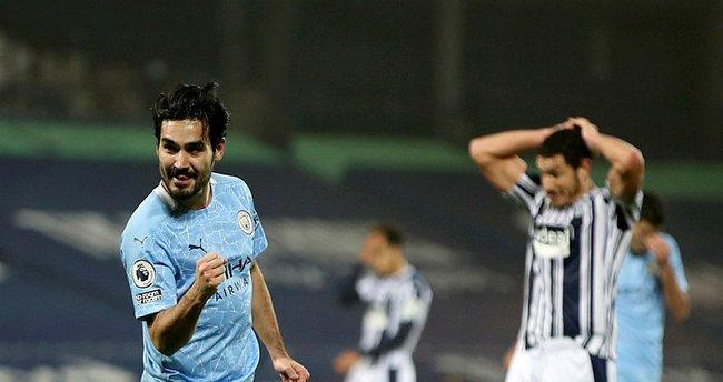 İlkay 2 gol attı Manchester City lider oldu!