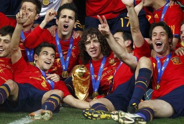 2010 Dünya Kupası İspanya'nın