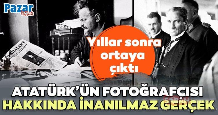 'Atatürk'ün fotoğrafçısı' bir casusmuş