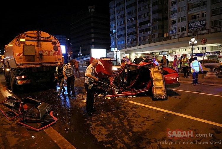 Ramazan Bayramı tatilinde acı kaza bilançosu : 39 ölü, 156 yaralı