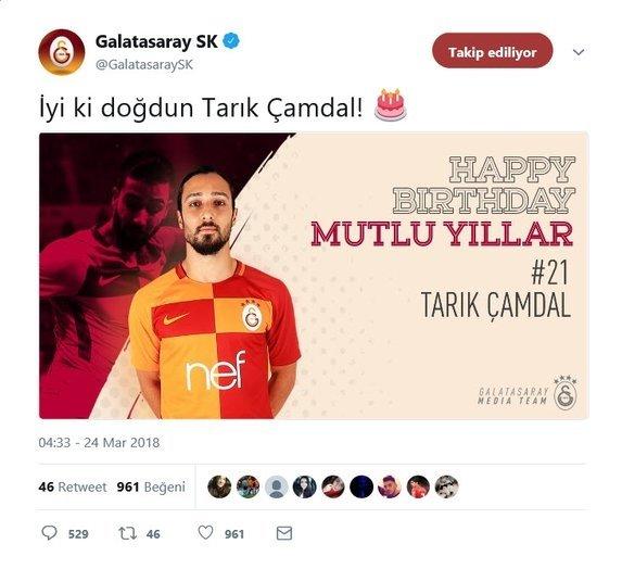 Galatasaray'da Tarık Çamdal krizi!