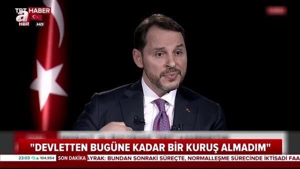 Hazine ve Maliye Bakanı Berat Albayrak'tan önemli açıklamalar | Video