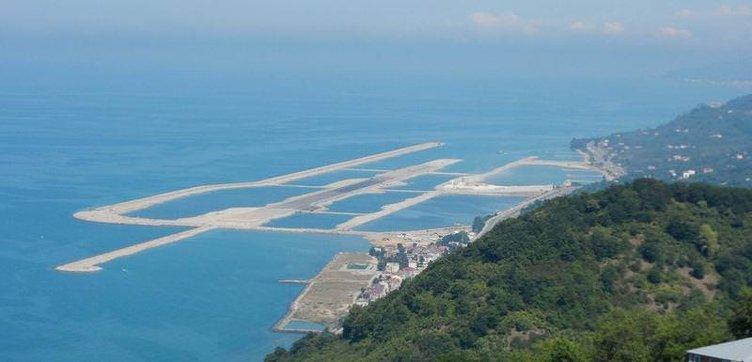 Denize kurulacak ilk havalimanı