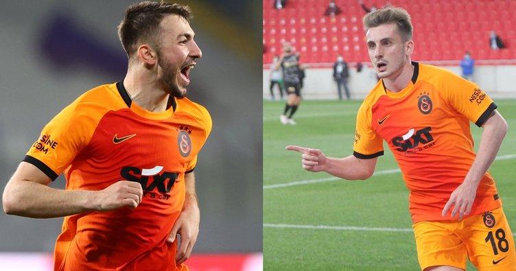 Son dakika: Galatasaray'da Kerem Aktürkoğlu ve Halil Dervişoğlu için karar verildi! EURO 2020 öncesi bomba teklif...