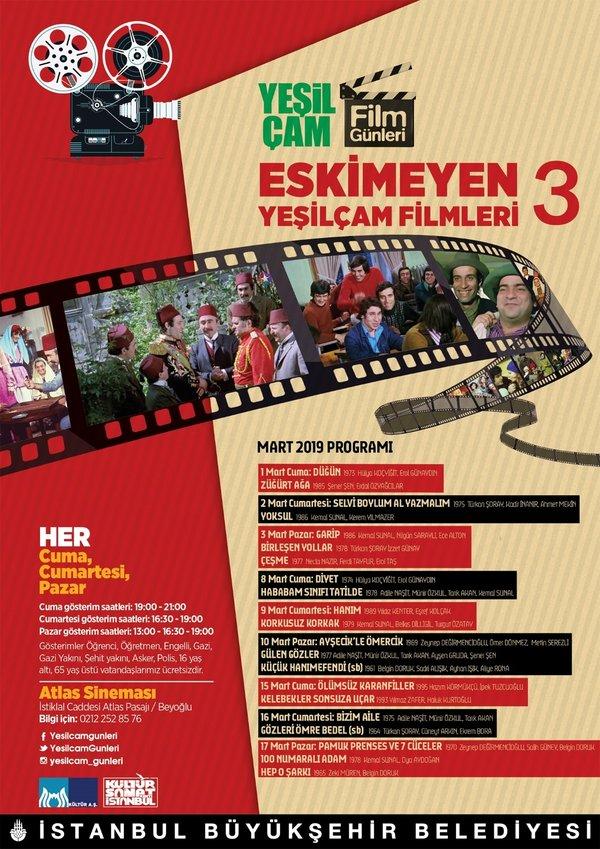 Yeşilçam Film Günleri 15 şubatta Başlıyor Kültür Sanat Haberleri