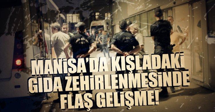 Manisa'daki gıda zehirlenmesine ilişkin 6 askere gözaltı kararı!