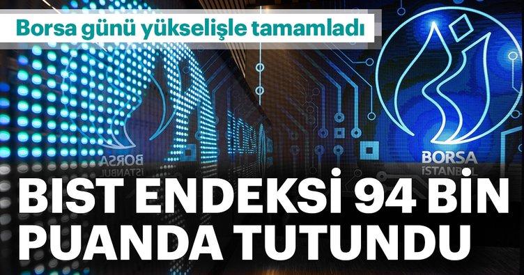 Borsa İstanbul Endeksi 94 bin puanda tutundu