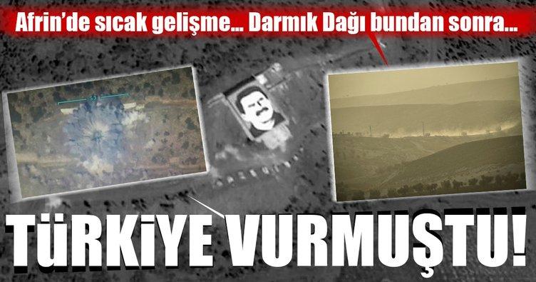 Son Dakika: Afrin, Darmık Dağı'ndan vurulacak