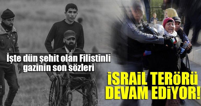 Barbar İsrail!