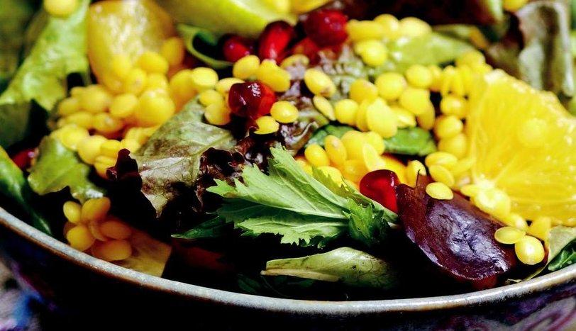 Sarı Mercimekli Salata