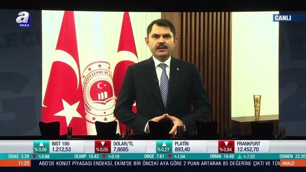 Son dakika! Çevre ve Şehircilik Bakanı Murat Kurum'dan 3. Türkiye 2023 Zirvesi'nde önemli açıklamalar | Video