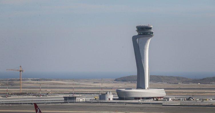 İstanbul Yeni Havalimanı'na uçaklar indi! İşte...