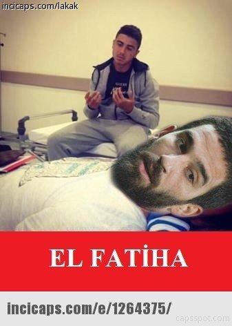 İspanya-Türkiye maçı capsleri!