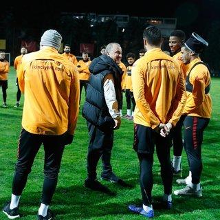 Galatasaray'da ikinci yarı hazırlıkları başladı