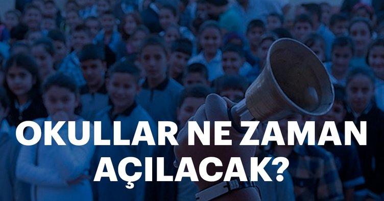 Okullar ne zaman açılacak? 2018 yaz tatili ne zaman bitiyor? MEB okulların açılacağı tarihi açıkladı